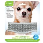 View Image 1 of fouFIT Cooling Dog Collar - Grey