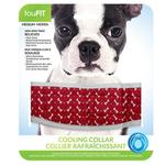 View Image 1 of fouFIT Cooling Dog Collar - Red