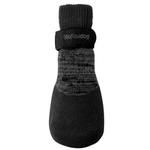 View Image 2 of foufou Dog Rubber Dipped Dog Socks - Black