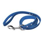 View Image 1 of Foxy Glitz Dog Leash by Cha-Cha Couture - Navy Blue