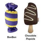 View Image 3 of Freeze 'n' Float Carnival Treats Dog Toys by foufou Dog