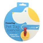 View Image 1 of FreezeTag Dog Tag Silencer - Red