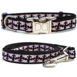 View Image 1 of Katrina Dog Collar and Leash Set by Diva Dog