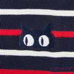 View Image 4 of Fritz Cat Sweater by Catspia - Navy
