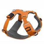 View Image 1 of Front Range Dog Harness by RuffWear - Orange Poppy