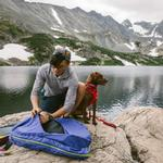 View Image 11 of Front Range Dog Harness by RuffWear - Red Sumac