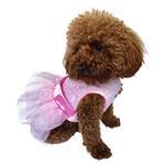 View Image 1 of Fufu Tutu Zsa Zsa Sequin Dog Dress - Pink