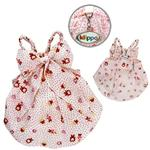 View Image 2 of Fun Animal Dog Sundress with Large Bow by Klippo