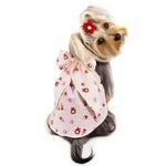 View Image 1 of Fun Animal Dog Sundress with Large Bow by Klippo