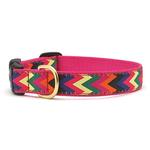 View Image 1 of Zig Zag Wag Dog Collar by Up Country