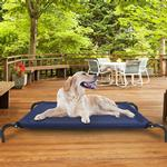 View Image 3 of FurHaven Cot Pet Bed - Deep Blue