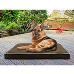View Image 3 of FurHaven Deluxe Indoor/Outdoor Solid Orthopedic Pet Bed - Espresso