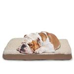 View Image 2 of FurHaven Ultra Plush Deluxe Orthopedic Pet Bed - Cream
