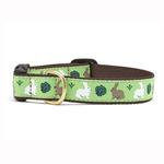 View Image 1 of Garden Rabbit Dog Collar by Up Country