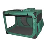 View Image 1 of Generation Soft Dog Crates - Moss Green