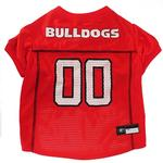 View Image 1 of Georgia Bulldogs Dog Jersey - Red