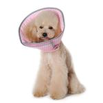 View Image 2 of Get Better Soft Dog E-Collar by Dogo - Pink Dots