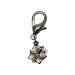 View Image 2 of Gift Box D-Ring Dog Collar Charm by foufou Dog