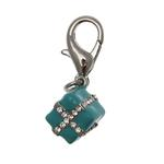 View Image 1 of Gift Box D-Ring Dog Collar Charm by foufou Dog
