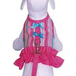 View Image 1 of Tutti Fruiti Dog Harness Vest with Leash by Cha-Cha Couture