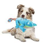 View Image 2 of goDog Amphibianz Chameleon Dog Toy