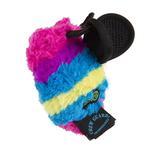 View Image 4 of goDog Bugs Bee Tough Plush Dog Toy - Rainbow