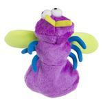 View Image 4 of goDog Bugs Fly Tough Plush Dog Toy - Purple