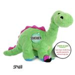View Image 3 of goDog Dino Bruto with Chew Guard Dog Toy - Green