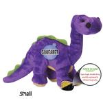 View Image 3 of goDog Dino Bruto with Chew Guard Dog Toy - Purple
