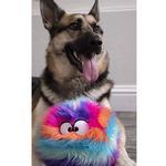 View Image 10 of goDog Furballz Dog Toy - Cool Rainbow