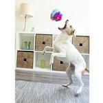 View Image 6 of goDog Furballz Dog Toy - Cool Rainbow