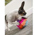 View Image 4 of goDog Furballz Dog Toy - Cool Rainbow