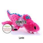 View Image 4 of goDog Gators Dog Toy - Pink