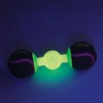 View Image 2 of goDog Retrieval GlowBone Dog Toy