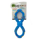View Image 1 of goDog RopeTek Figure 8 Rope Tough Dog Toy - Blue