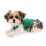 View Image 6 of Gold Paw Fleece Dog Jacket - Emerald Green