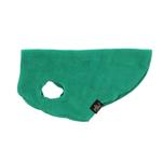 View Image 4 of Gold Paw Fleece Dog Jacket - Emerald Green