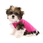 View Image 1 of Gold Paw Fleece Dog Jacket - Fuchsia