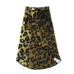 View Image 5 of Gold Paw Fleece Dog Jacket - Leopard