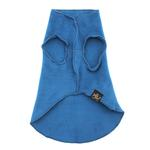 View Image 3 of Gold Paw Fleece Dog Jacket - Marine Blue