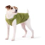 View Image 1 of Gold Paw Fleece Dog Jacket - Moss Green