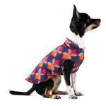 View Image 1 of Gold Paw Fleece Dog Jacket - Summer Mod