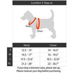 View Image 6 of Gooby Comfort X Step-In Dog Harness - Blue