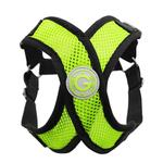 View Image 1 of Gooby Comfort X Step-In Dog Harness - Lime Green
