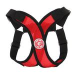 View Image 1 of Gooby Comfort X Step-In Dog Harness - Red