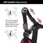 View Image 4 of Gooby Escape Proof Easy Fit Dog Harness - Purple