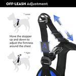 View Image 3 of Gooby Escape Proof Easy Fit Dog Harness - Red