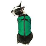 View Image 2 of Gooby Fashion Quilted Dog Vest - Green