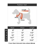 View Image 4 of Gooby Fashion Quilted Dog Vest - Gray