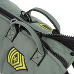View Image 4 of Gooby Military Dog Vest - Green